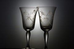De Glazen van de cocktail. Stock Afbeeldingen