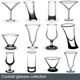 De glazen van de cocktail Stock Fotografie