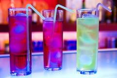 De glazen van de cocktail royalty-vrije stock afbeelding