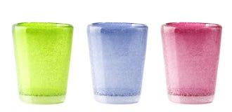 De glazen van de kleur Stock Afbeelding