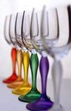 De glazen van de kleur Royalty-vrije Stock Foto
