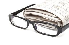 De glazen van de lezing Stock Fotografie