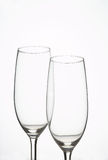 De Glazen van de Mousserende wijn - Sektglaeser Stock Foto's