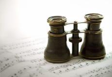 De glazen van de opera Royalty-vrije Stock Afbeeldingen