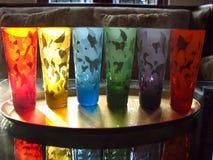 De Glazen van de regenboog Royalty-vrije Stock Afbeeldingen