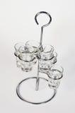 De glazen van de Schutters van Tequila Royalty-vrije Stock Foto