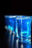 De glazen van de spruit Stock Foto's