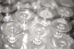 De Glazen van de wijn Royalty-vrije Stock Foto