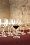 De glazen van het kristal Royalty-vrije Stock Afbeeldingen