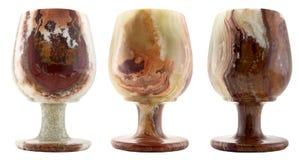 De glazen van het onyx Royalty-vrije Stock Afbeelding