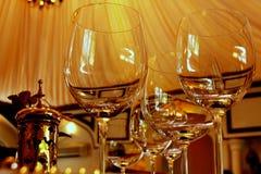 De Glazen van het water Royalty-vrije Stock Fotografie