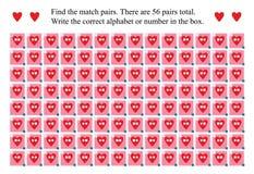 De glazen van de liefdeslijtage vinden de gelijkeparen vector illustratie