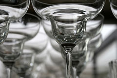 De Glazen van Margarit Stock Afbeeldingen