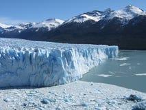 De gletsjer en het meer van Moreno van Perito royalty-vrije stock fotografie