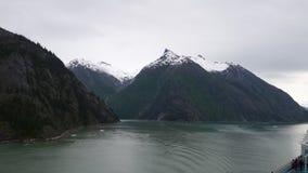 De Gletsjer Nationaal Park van zuidoostenalaska Stock Afbeeldingen