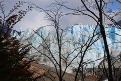 De gletsjer Perito Moreno Stock Afbeelding