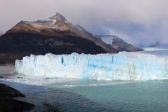 De gletsjer Perito Moreno - Patagonië Argentinië Stock Afbeeldingen