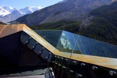 De Gletsjer Skywalk van de Sunwaptavallei Royalty-vrije Stock Foto's