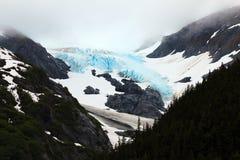 De gletsjer van Alskan Stock Foto's