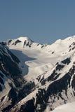 De gletsjer van Alyeska stock afbeelding