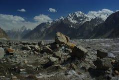 De gletsjer van Biafo Royalty-vrije Stock Afbeeldingen
