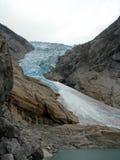 De gletsjer van Briksdal Royalty-vrije Stock Afbeeldingen