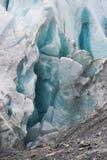 De Gletsjer van de Fjord van Kenai stock afbeelding
