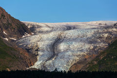 De Gletsjer van de uitgang Stock Foto