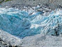 De Gletsjer van de vos, het Eiland van het Zuiden, Nieuw Zeeland Royalty-vrije Stock Foto's