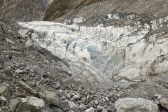De Gletsjer van de vos van Nieuw Zeeland Stock Afbeelding