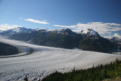 De Gletsjer van de zalm Stock Afbeelding
