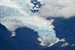 De gletsjer van de zomer Stock Afbeelding