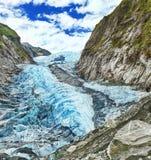 De gletsjer van Franz Josef Royalty-vrije Stock Foto's