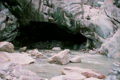 De Gletsjer van Gangotri   Royalty-vrije Stock Afbeeldingen