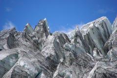 De gletsjer van het ijs   stock afbeeldingen