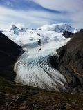De gletsjer van de Huemulkring stock afbeelding