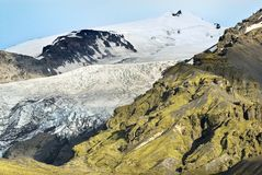 De gletsjer van IJsland Royalty-vrije Stock Fotografie