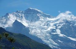 De Gletsjer van Jungfrau Stock Afbeeldingen
