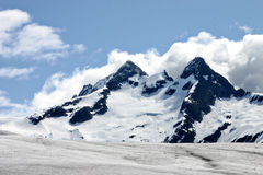 De Gletsjer van Mendenhall Stock Foto's