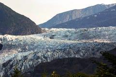 De gletsjer van Mendenhall, Alaska royalty-vrije stock afbeeldingen