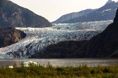 De gletsjer van Mendenhall, Alaska royalty-vrije stock fotografie