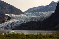 De gletsjer van Mendenhall, Alaska royalty-vrije stock foto's
