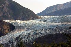 De gletsjer van Mendenhall, Alaska stock afbeelding