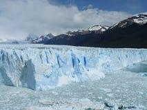 De gletsjer van Moreno van Perito (Argentinië) Stock Afbeeldingen