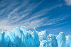 De gletsjer van Moreno van Perito, Patagonië, Argentinië. Stock Foto's