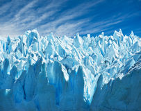 De gletsjer van Moreno van Perito, Patagonië, Argentinië. Stock Fotografie