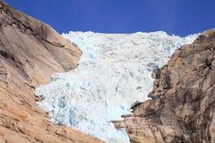 De gletsjer van Noorwegen Stock Afbeeldingen