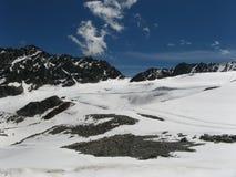 De gletsjer van Rettenbach royalty-vrije stock afbeeldingen