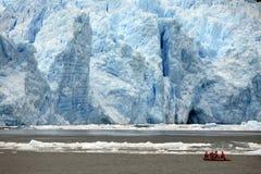 De Gletsjer van San Rafaël - Patagonië - Chili royalty-vrije stock afbeelding