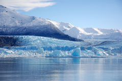 De Gletsjer van Upasala Stock Fotografie